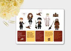 Harry Potter Stickers, Harry Potter Planner, Harry Potter Quotes, Harry Potter Sticker Kit, Wizard Stickers, ECLP by SticknPlanshop on Etsy https://www.etsy.com/listing/487365649/harry-potter-stickers-harry-potter