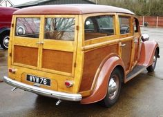 Ford Pilot Woodie.