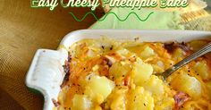 This week I'm sharing one of my favorite side dishes from my childhood. This easy cheesy pineapple bake was often served on our Thanksgivin...