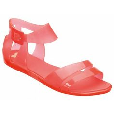 Mel Shoes by Melissa | Macadamia Coral Sandals | www.melshoes.com