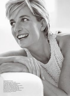 Princess Diana, shot by Mario Testino