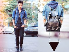 Leather Lane (by David Guison) http://lookbook.nu/look/3282209-Leather-Lane
