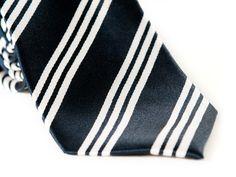 Blue with White Stripes Neckties