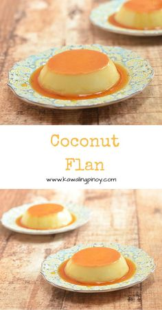 Rich, silky-smooth and with a hint of coconut flavor, this coconut flan are a delicious sweet treat that's sure to be a family favorite via @lalainespins
