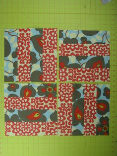 Imagine Fabric Blog: How To Make A Simple QUILT BLOCK