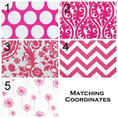 Pair of Drapery Panels Premier Prints Candy Pink by Modernality2, $125.00