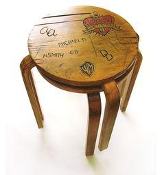 Alvar Aalto Punk stools