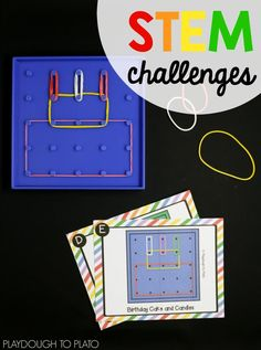 Awesome STEM challenges for kids!