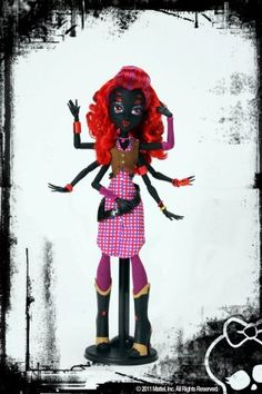 Daughter of Arachne doll... might be coming out eventually