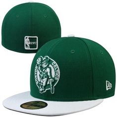 769e15861bc New Era Boston Celtics Hardwood Classics Two-Tone 59FIFTY Fitted Hat -  Kelly Green White