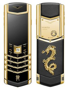 Vertu signature dragon phone