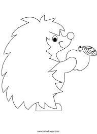Výsledek obrázku pro ježek šablona
