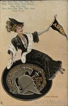 West Point Military Academy Yell F. Earl Christy College Girls