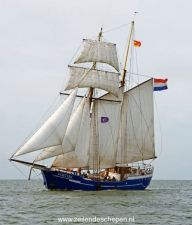 De Fortuna onder grootzeil. Tall Ships, Paddle, Sailing Ships, Ocean, Boat, Boats, Dinghy, Sea, Boating