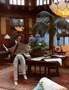 Dirk Bogarde in Morte a Venezia directed by Luchino Visconti, 1971