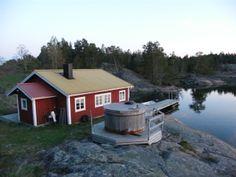 Island cottage in Tjust archipelago