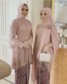 Kebaya Muslim, Dress Brokat Muslim, Kebaya Hijab, Muslim Dress, Muslim Hijab, Vera Kebaya, Kebaya Lace, Kebaya Dress, Batik Kebaya