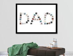 DAD birth day gift idea, editable Dad Photo collage, Dad anniversary gift idea, Dad art gift, gift for father day, diy dad gift #PhotoArtIdea #FatherDayGiftIdea #StationeryGiftIdea #GiftForHim #GiftForDad #PhotoAlbumTemplate #ArtGift #AnniversaryGifts #DadArtGift #GiftForMom