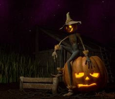 Halloween Scarecrow Pictures | Halloween Scarecrow by ~Ristridyn on deviantART
