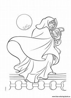 disney tangled coloring pages printable pages tangled disney rapunzel - Tangled Coloring Pages Girls