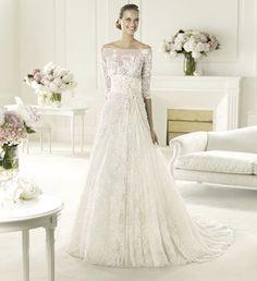 2013 wedding dress Elie Saab bridal collection for Pronovias Folie 2