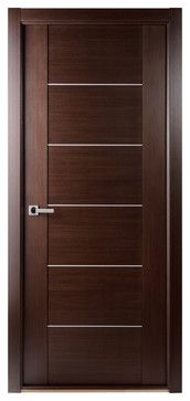 Maximum 201 Interior Door Wenge - contemporary - interior doors - new york - Doors And Beyond