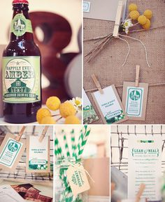 I want to design my own beer/wine bottle for my wedding! #invite #wedding #strippedstraw