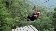 zipline fun - The Gorge Zipline Canopy Tour, Saluda
