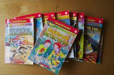 Chapter book series for 1st grade boys