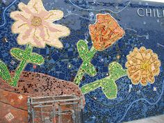 Mosaic Flower Pot design