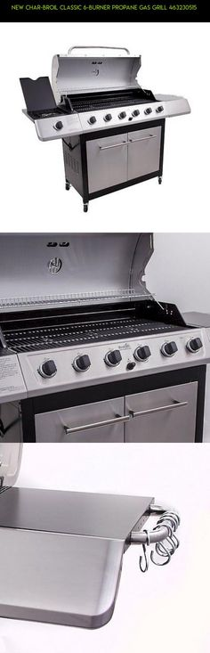 new charbroil classic 6burner propane gas grill gadgets shopping - Char Broil Gas Grill Parts