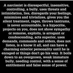 #Narcissist. #narcissism