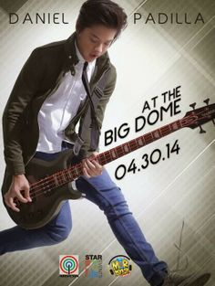 DOS: Daniel Padilla Birthday Concert at the Big dome - April 2014 Daniel Johns, Star Magic, Daniel Padilla, John Ford, Kathryn Bernardo, King Of Hearts, Pinoy, Philippines, Fashion Models