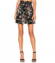 Bartlett Georgette Skirt by Ganni