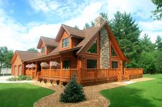 log cabin picture gallery | Log Home Plans | Southland Log Homes #LogHomePlans
