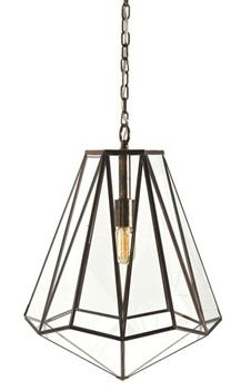 visually intriguing the industrial chic edmond pendant by arteriors captures the eye with its geometric form the hexagonal light fixtures antique brass arteriors soho industrial style pendant light fixture