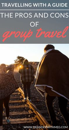Do you want to travel but don't want to travel alone? Solo travel doesn't have to be lonely if you join a group tour. In this article I look at the pros and cons of guided group travel. What's it like to travel in a tour group?