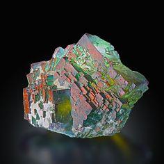 Fluorite - Bergmännisch Glück Mine, Frohnau, Annaberg-Buchholz, Annaberg District, Erzgebirge, Saxony, Germany Size: 6.5 × 5.5 × 3.0 cm