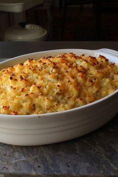 Potato Sides, Potato Side Dishes, Pasta Side Dishes, Potato Recipes, Vegetable Recipes, Veggie Food, Potatoes Romanoff Recipe, Side Dish Recipes, Dinner Recipes