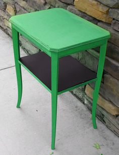 Emerald Green Side Table