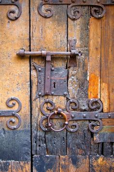 Old Door Lock, Villefranche ( Nice ), France