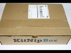 KitNipBox October 2016 Review/Unboxing + Coupon #KITNIPBOX - YouTube