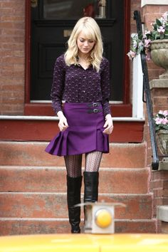 A Supervillain Needs To Steal Emma Stone Clothes