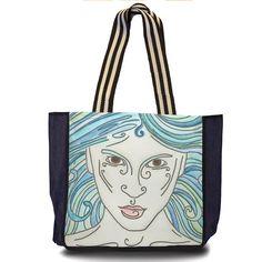 Ninfa, maxibag da coleção Fantasias, produzida a partir das aquarelas de Aline Pascholati. O objetivo da artista é mostrar o lado mágico da vida, a partir de personagens enigmáticos e imagens bem coloridas.