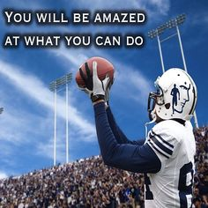 You will be amazed at what you can do.