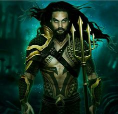 Jason Momoa - Aquaman                                                                                                                                                                                 More