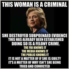 HA! Any one of us would be in freaking prison already. Killary has it all in the bag. Bye Trump; you pissed off wayyyyyy too many voters to win; Killary has new draperies ordered for the Oval; enjoy the Inauguration; but it won't be yours. Narcissism whooped your rump. Now we're all gonna pay dearly for Killary's Krimes.