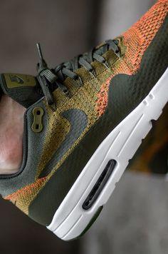 Nike Air Max 1 Ultra Flyknit #sneakernews #Sneakers #StreetStyle #Kicks