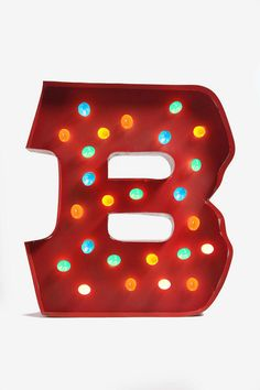 Boys Playroom:)) Marquee Alphabet Light - Multi