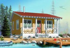 20x20 floor plan - love the deck